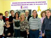 Imágenes primer encuentro provincial afectados Mastenia Gravis Jaén