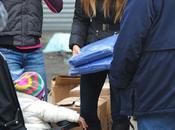 Justin Timberlake Jessica Biel ayudan víctimas Huracán Sandy Nueva York (IMAGENES)