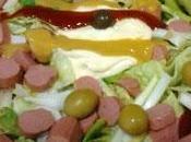 Receta ensalada frankfurt