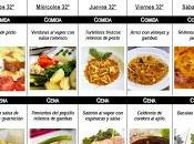 Semana Menú mensual noviembre 2012