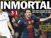 Sólo Lionel está delante Messi
