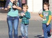 Britney Spears paseo junto hijos (+fotos)