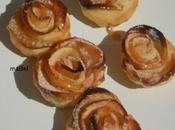 Flores hojaldre manzana (sin complicaciones)