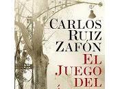 Reseña Juego Ángel Carlos Ruiz Zafón