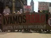 Movilizaciones toma protesta