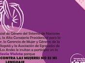 """Ciclovía colombia """"únete para poner violencia contra mujeres"""""""
