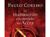 manuscrito encontrado Accra', nuevo Paolo Coelho