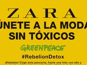 Greenpeace contra prendas Zara