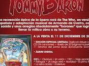 """Proximo lanzamiento; Opera Rock Barón Rojo """"Tommy Barón"""""""