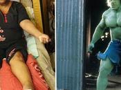 mujer convierte como Hulk NOTICIAS MIEDO