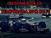 Resumen temporada 2012 parte primera mitad