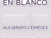 Alejandro Céspedes. Topología página blanco