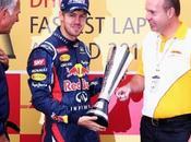 Vettel lleva premio mayor numero vueltas rapidas