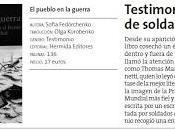 Diario Menorca, libro pueblo guerra Sofia Fedórchenko diciembre 2012