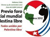 Mensaje saludo desde Cuba Foro Social Mundial Palestina Libre