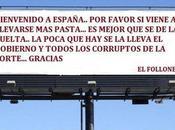 España, puesto países corruptos