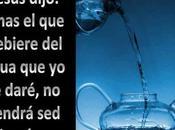 beba agua daré, volverá tener jamás
