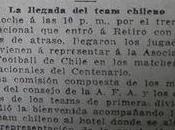 primera selección chilena