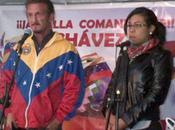 Sean Penn participó vigilia salud Chávez