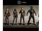 Diseños conceptuales trajes alternativos X-Men: Primera Generación