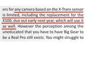 Rumor: Fuji X200 Sensor X-Trans Sería Presentada principios 2013