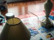 Pintando lámpara