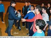 Córdoba: jiménez fortes visita alumnos escuela taurina