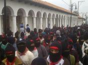 Marchan zapatistas Ocosingo, Margaritas Cristóbal