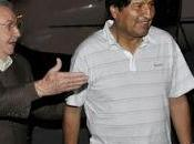 Morales recibido Cuba homólogo Raúl Castro