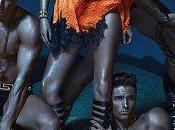 Kate Moss, Daria Werbowy Joan Smalls para Versace, Spring 2013