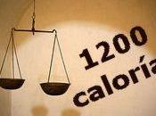 Dieta 1200 calorias para adelgazar