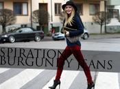 Inspiration Burgundy Jeans