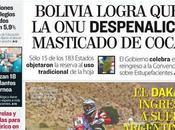 Bolivia logra legalizar acullico vuelve Convención Viena...
