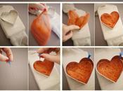 Cómo hacer coderas forma corazón