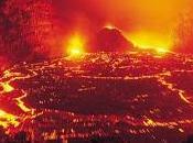 volcán Kamchatka, algo simple