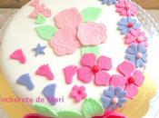Tarta floral