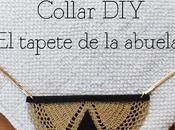 Collar tapete Doily neckale