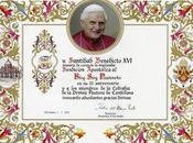 Papa Benedicto bendice blog pastoreño, a...