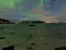 Círculo Polar Ártico iluminó espectaculares auroras