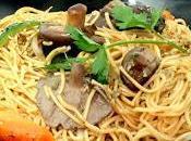 Yakisoba Cocina Oriental Receta Setas Shitake