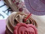 Cupcakes chocolate para Valentín