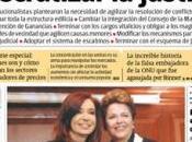 Embajadora Trucha llega medios nacionales
