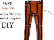 Alexander Mcqueen geometric leggins