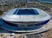 Desplome estadio fútbol brasileño