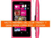 Gana Nokia Lumia siendo miembro Club Trendy
