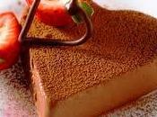 Gelatina chocolate, dulce placer