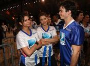 Somerhalder Nina Dobrev Seventh Annual Celebrity Beach Bowl