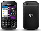 BlackBerry Q10, primer teclado QWERTY