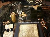 Decoración mesa Carnaval Venecia