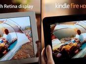 Amazon compara pantallas Kindle Fire iPad comercial para